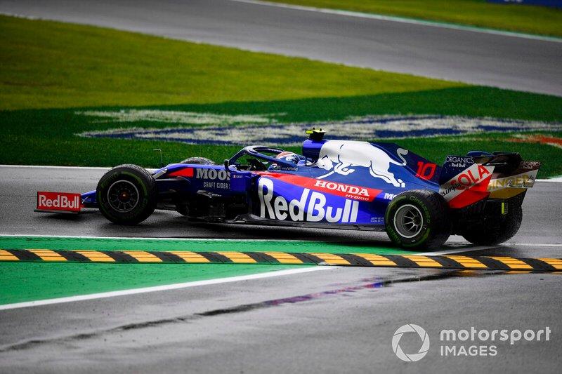 Pierre Gasly, Toro Rosso STR14, gira
