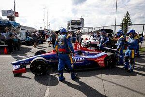 Alexander Rossi, Andretti Autosport Honda, repair