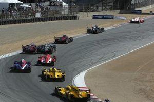 Azione di gara a Laguna Seca
