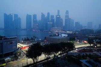 Panoramica di Singapore skyline