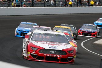 Ryan Blaney, Team Penske, Ford Mustang Wabash National