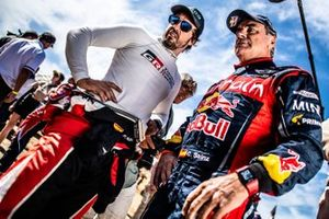 Fernando Alonso, Toyota Gazoo Racing, Carlos Sainz, X-Raid Team