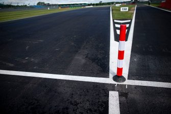 New Track surface on the entrance to the pit lane