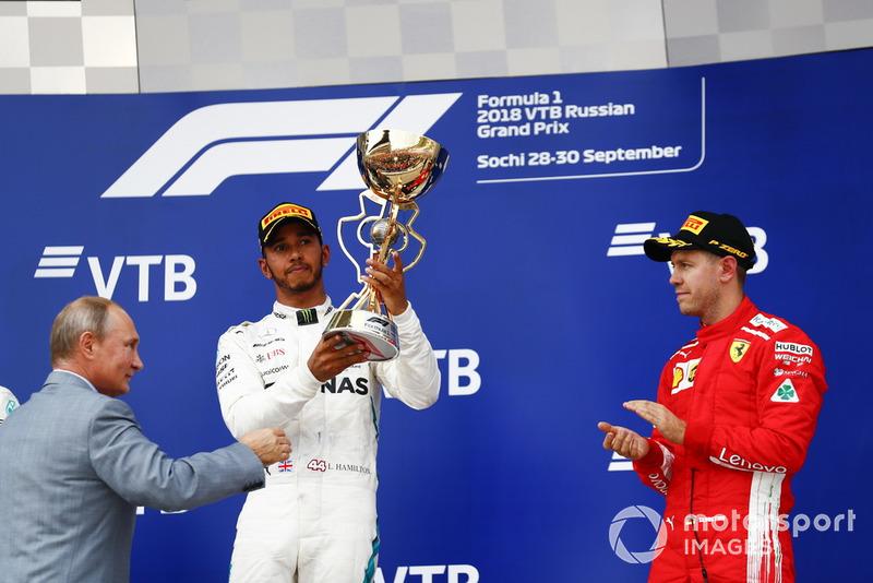 70 - GP da Russia 2018, Mercedes