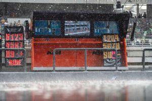 Red Bull KTM Factory Racing garage pit