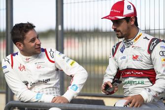 Robin Frijns, Envision Virgin Racing, with Lucas di Grassi, Audi Sport ABT Schaeffler
