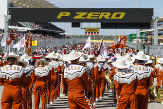 Pre-race grid festiviteiten