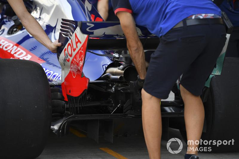 Scuderia Toro Rosso STR13 rear