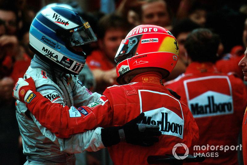 2000 Michael Schumacher, Ferrari