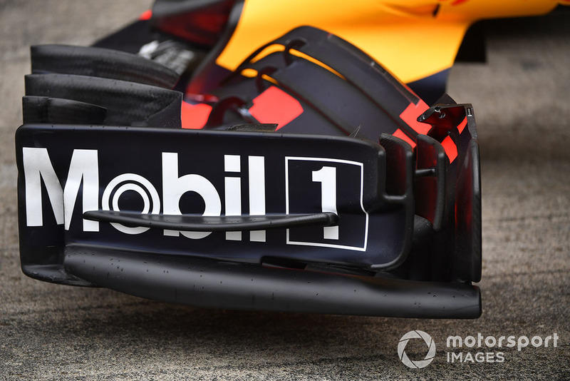 Aileron avant de la Red Bull Racing RB14