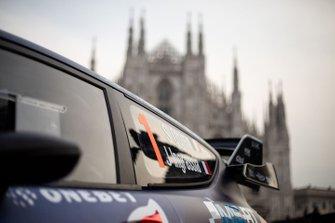 La Ford Fiesta WRC M-Sport de Sébastien Ogier et Julien Ingrassia