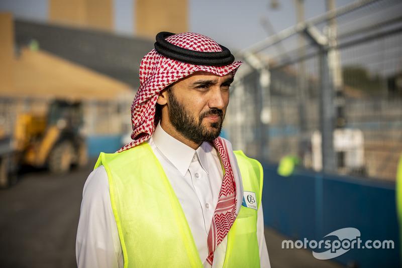 Présentation de la piste du 'Saudia' Ad Diriyah E-Prix