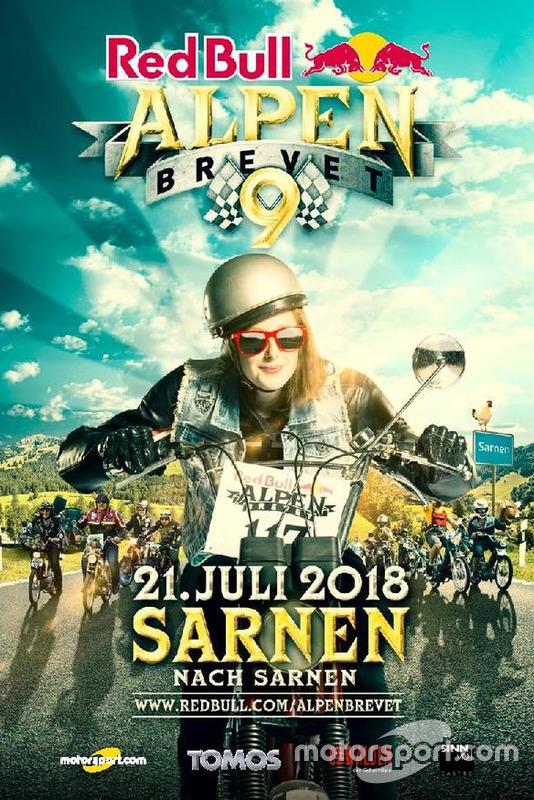 Red Bull Alpenbrevet, 2018 flyer, première page