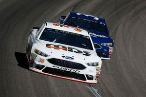 #David Ragan, Front Row Motorsports, Ford Fusion MDS Transport and Michael McDowell, Front Row Motorsports, Ford Fusion Coburn Supply Company