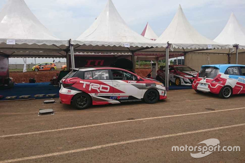 Demas Agil, Toyota Team Indonesia, BSD City Grand Prix