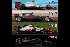 Decoraciones de Haas F1 Team 2016-2019