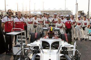 Marcus Ericsson, Sauber op de grid
