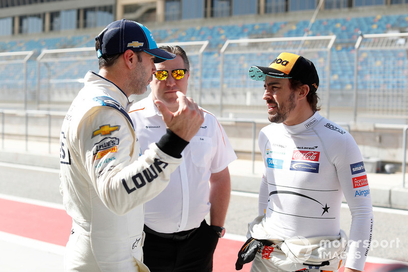 Jimmie Johnson-Fernando Alonso - Bahrein