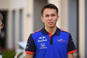 Alexander Albon, Scuderia Toro Rosso