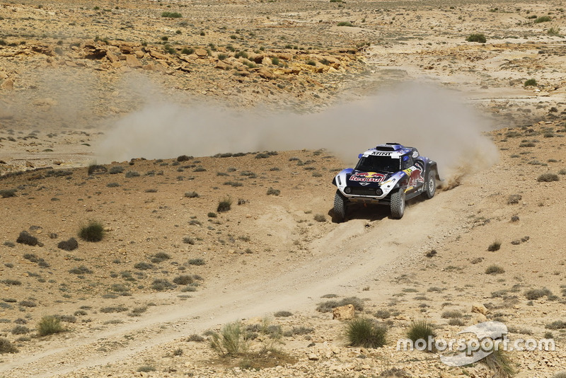 #307 X-Raid Mini John Cooper Works Buggy Team: Carlos Sainz, Lucas Cruz
