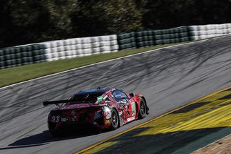 #93 Michael Shank Racing with Curb-Agajanian Acura NSX, GTD: Lawson Aschenbach, Justin Marks, Mario Farnbacher