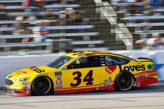 Michael McDowell, Front Row Motorsports, Ford Fusion Love's/ Luber Finer
