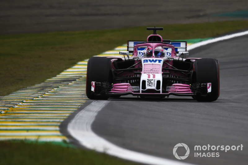 Sergio Perez - Racing Point Force India: 8 puan