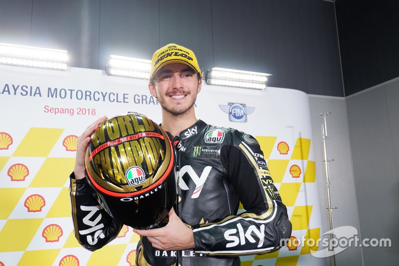 Champion Francesco Bagnaia, Sky Racing Team VR46
