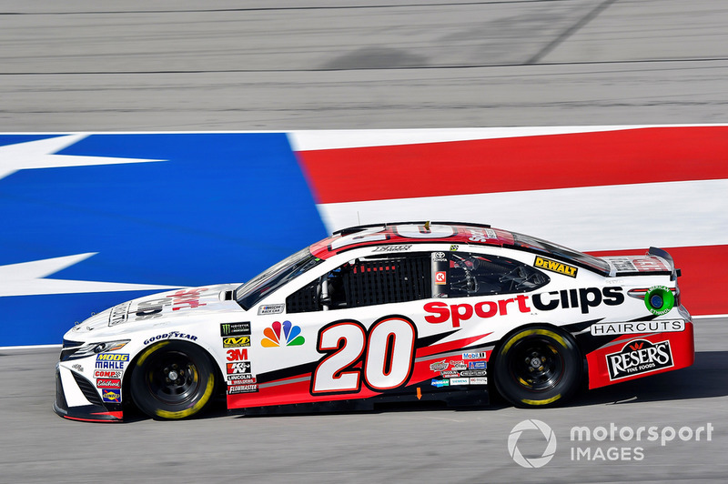12. Erik Jones, Joe Gibbs Racing, Toyota Camry Sport Clips