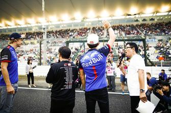 Brendon Hartley, Scuderia Toro Rosso, et Pierre Gasly, Scuderia Toro Rosso