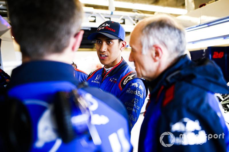 Apa komentar dari Franz Tost, team principal Toro Rosso?