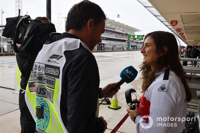 Tatiana Calderon, Alfa Romeo Sauber F1 Team Test Driver