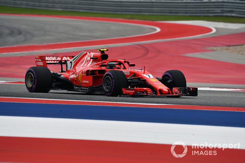 2º Kimi Raikkonen, Ferrari SF71H