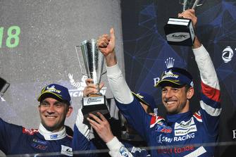 Terzo assoluto: Vitaly Petrov, Jenson Button, SMP Racing
