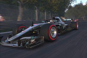 Скриншот компьютерной игры F1 2018