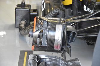 Renault Sport F1 Team R.S. 18 detalle freno delantero
