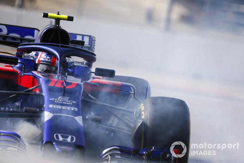Pierre Gasly, Scuderia Toro Rosso STR13 melintir