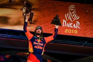 Podium: Red Bull KTM Factory Racing KTM: Toby Price