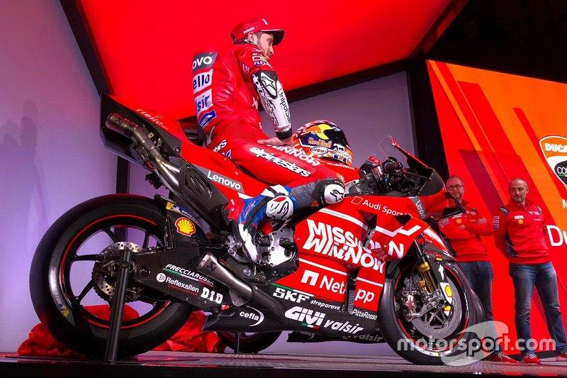 Andrea Dovizioso, Ducati Team (Screenshot)