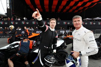 Josef Newgarden and David Coulthard