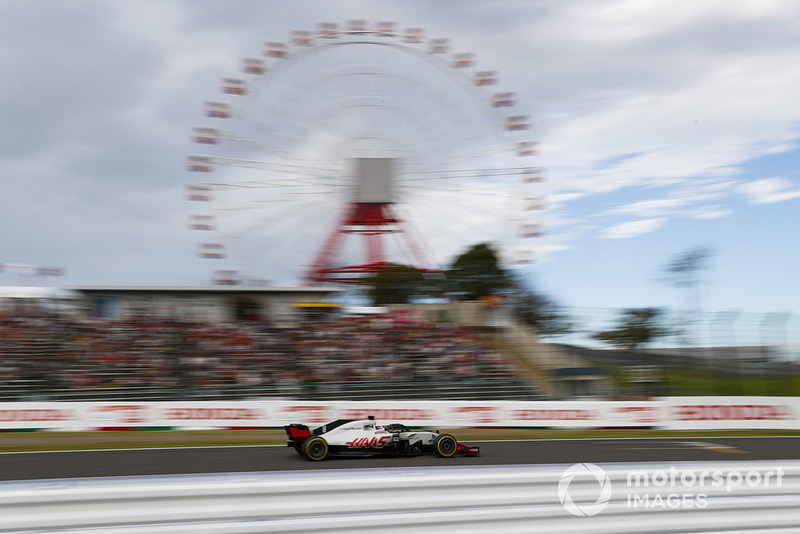 5: Romain Grosjean, Haas F1 Team VF-18, 1:29.761