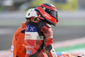 Tommaso Marcon, Tech 3 E-Racing caída