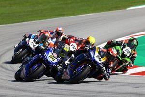 Loris Baz, Ten Kate Racing Yamaha, Federico Caricasulo, GRT Yamaha