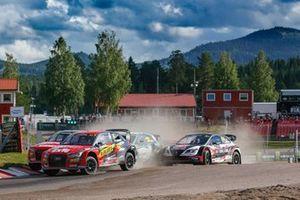 Robin Larsson, KYB Team JC, Mattias Ekström, KYB Team JC, Timo Scheider, All-Inkl Münnich Motorsport