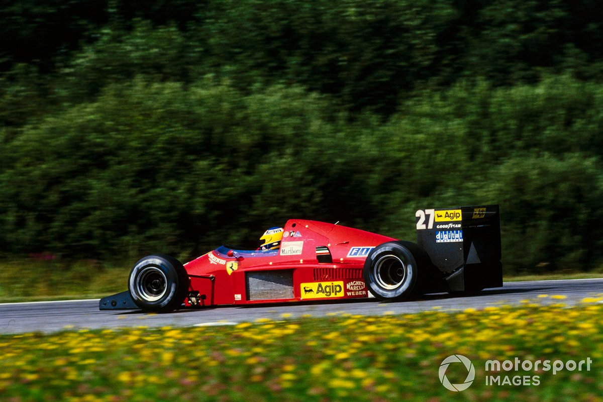 Michele Alboreto, Ferrari F1/86