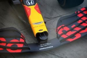 Red Bull Racing RB 16 front wing detail