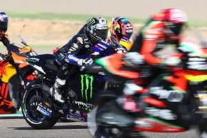 Maverick Vinales, Yamaha Factory Racing, Stefan Bradl, Repsol Honda Team, Brad Binder, Red Bull KTM Factory Racing