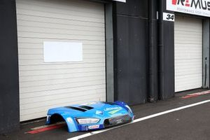 Garage of Robin Frijns, Audi Sport Team Abt Sportsline, Audi RS5 DTM