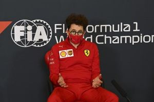 Mattia Binotto, Team Principal Ferrari, in a Press Conference