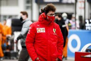 Mattia Binotto, Team Principal Ferrari on the grid